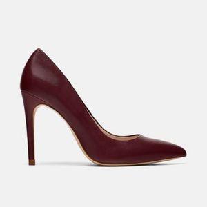 ZARA Heels / Pumps - Deep Red / Burgundy - NWOT!